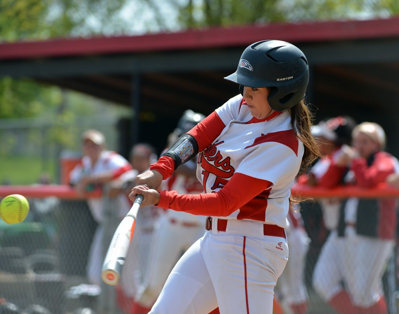 SOU Softball Gina Ayala