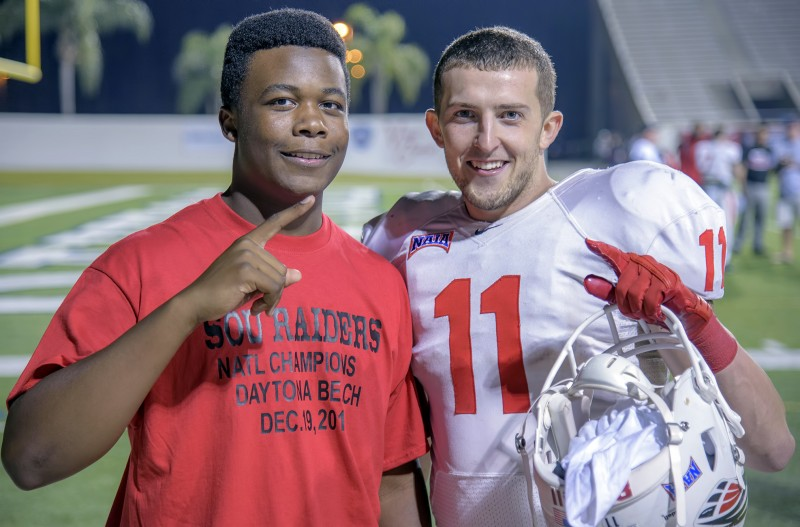 sou football daytona Ja'Quay Rucker Dylan Young