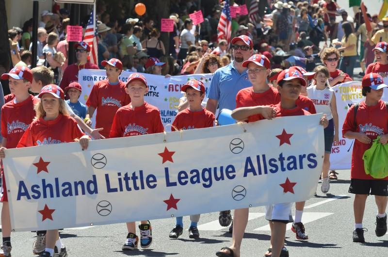 ashland little league 4th of july parade