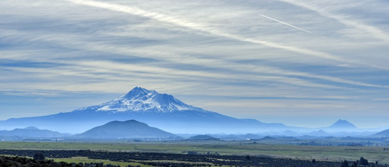 mount shasta mt. california i-5