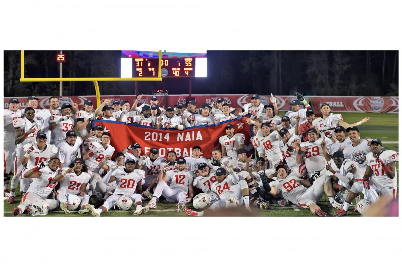 2014 NAIA Football National Champions - Southern Oregon University Raiders