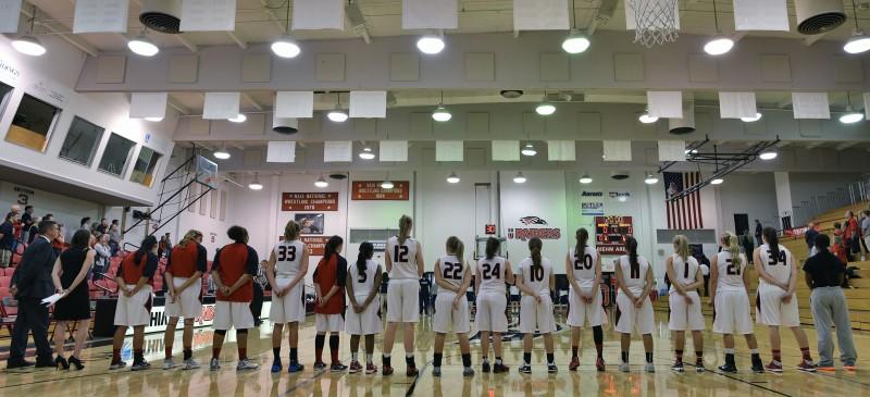 2015 Southern Oregon University women's basketball team