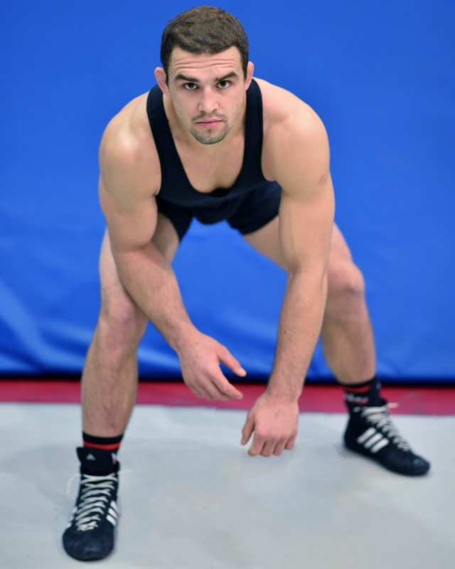 2015 NAIA Individual 197-pound Wrestling National Champion Taylor Johnson