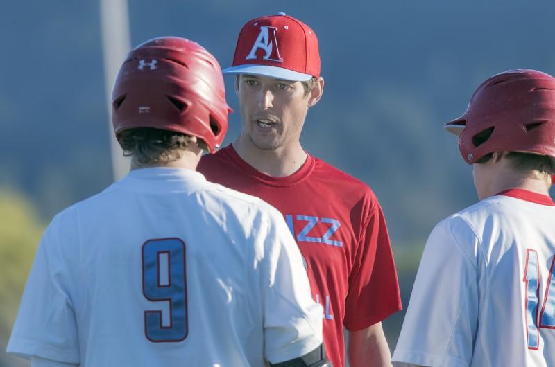 Ashland High School Baseball Coach Mike Kenask