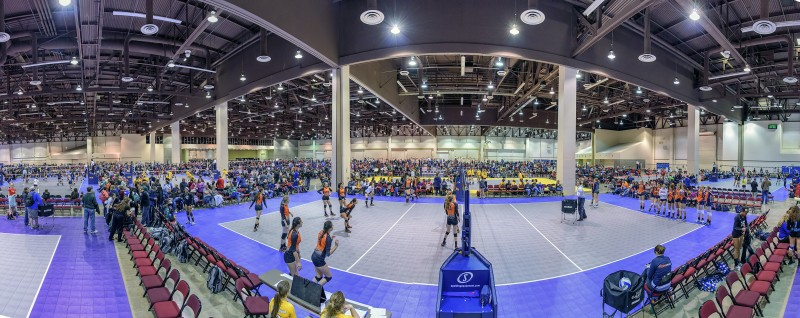 9-photo photomerge panorama reno convention center volleyball