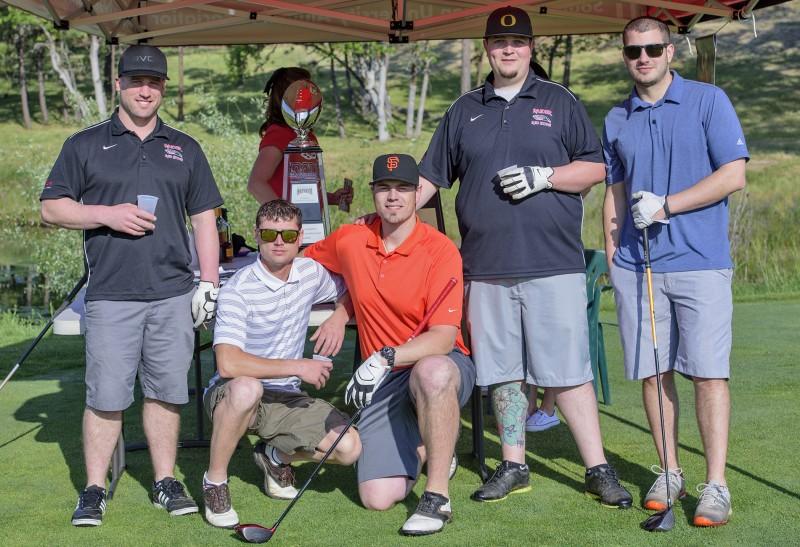 SOU raider red zone golf shootout team