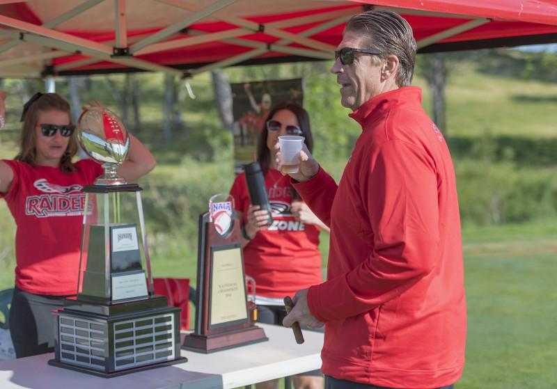 SOU raider red zone golf shootout todd krohn