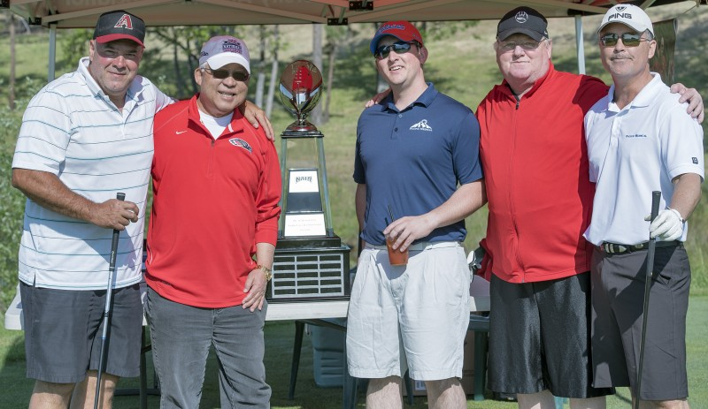 SOU raider red zone golf shootout team