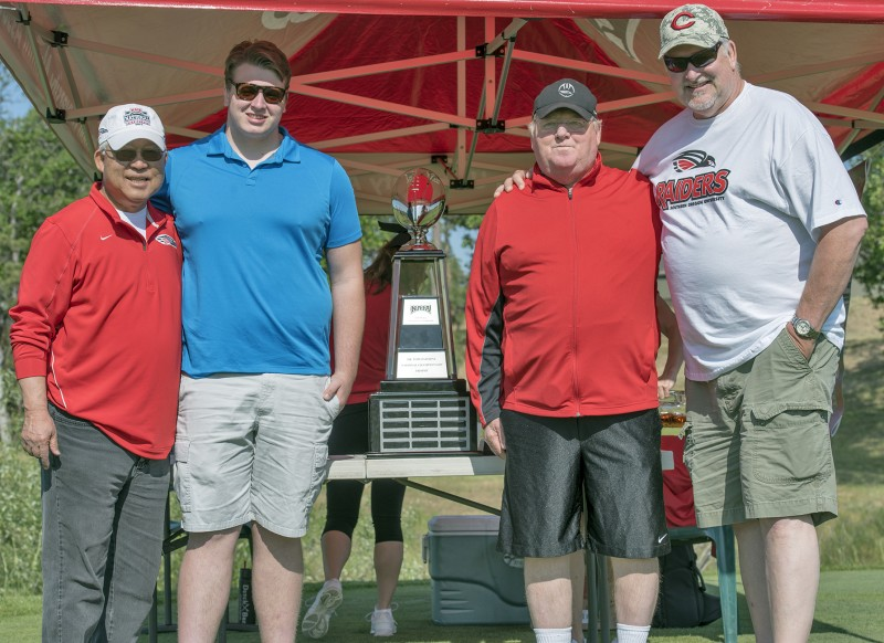 SOU raider red zone golf shootout father son
