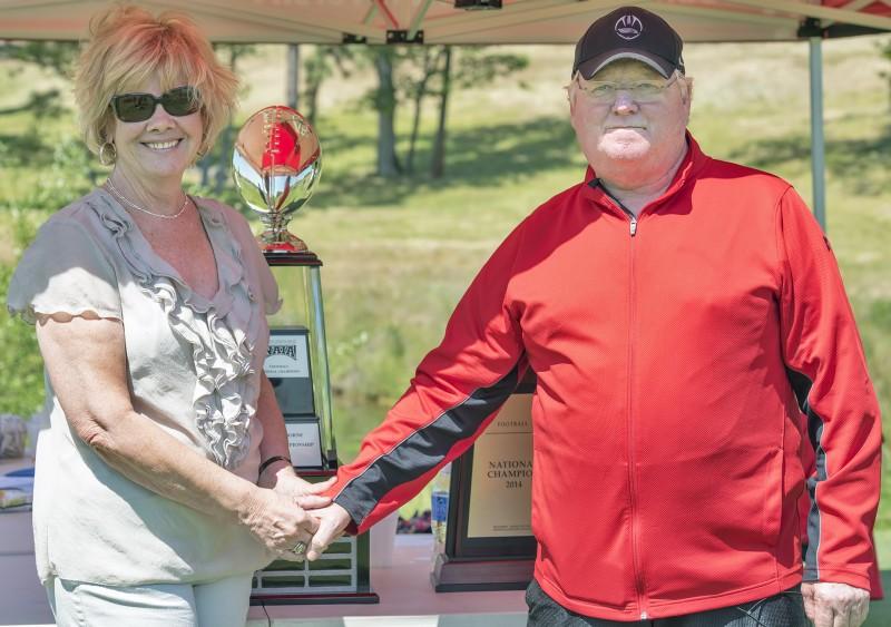 SOU raider red zone golf shootout dana smith tuley coach craig howard