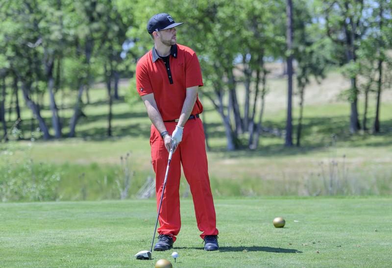SOU raider red zone golf shootout austin loreman