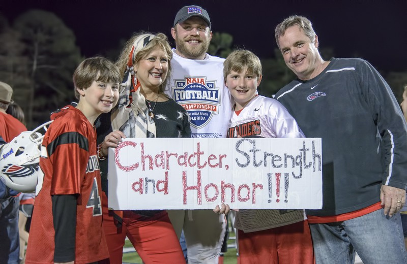 sou football daytona alex stork family