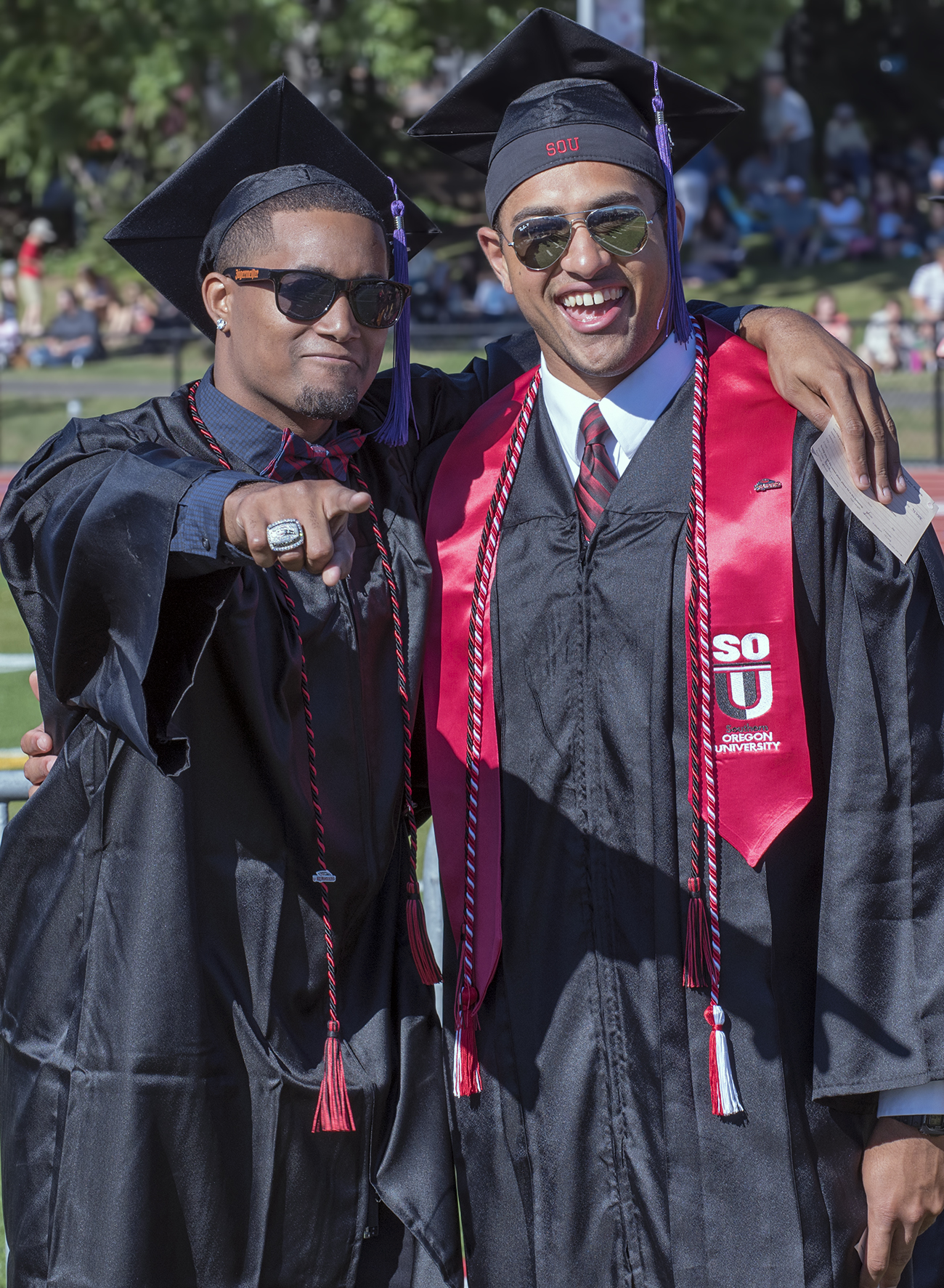 National champions crime fighters and 2015 sou graduates blakelyn