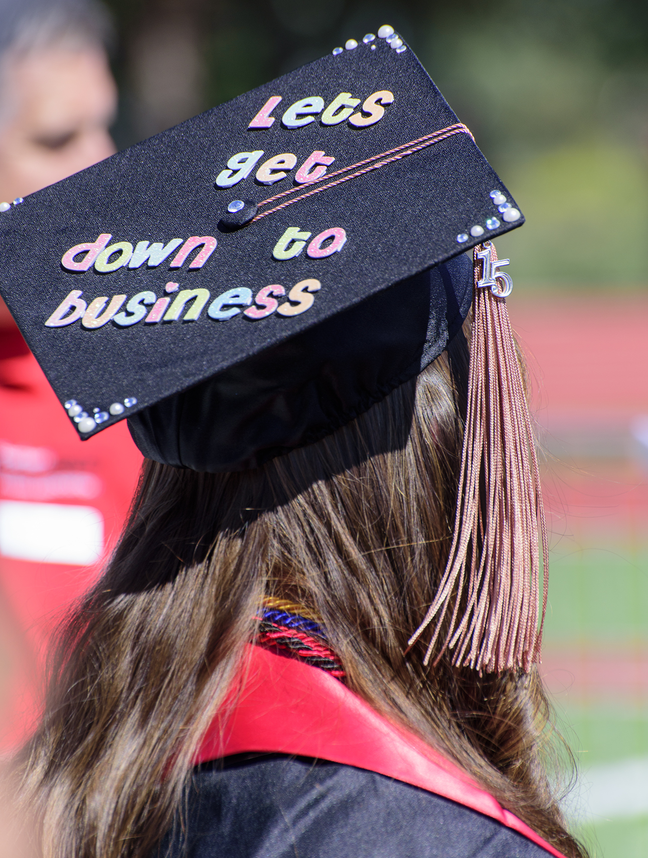 Commencement ashland daily photo for Accounting graduation cap decoration