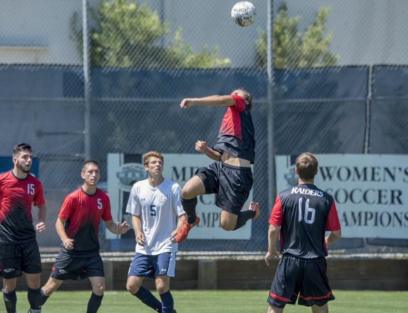 SOU men's soccer Clayton Nadon