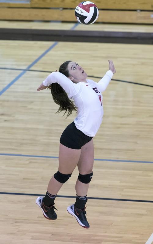 SOU volleyball Ashlyn Flynn