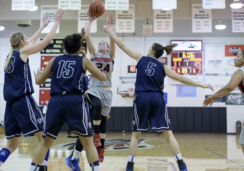 SOU women's basketball Ashley Claussen