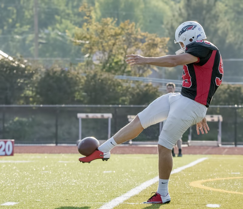 SOU football spring game thomas giddens