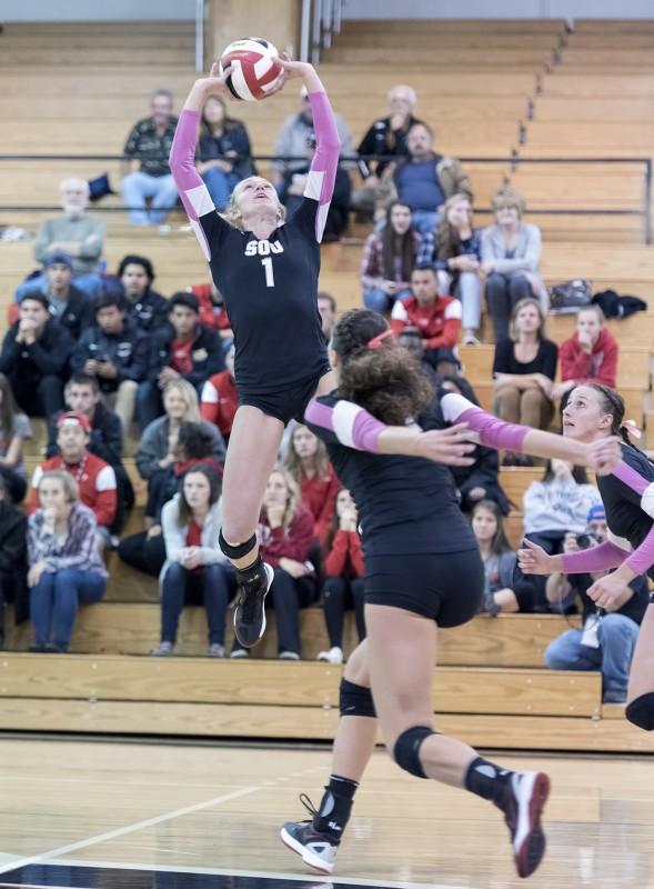 sou volleyball lauren mcgowne