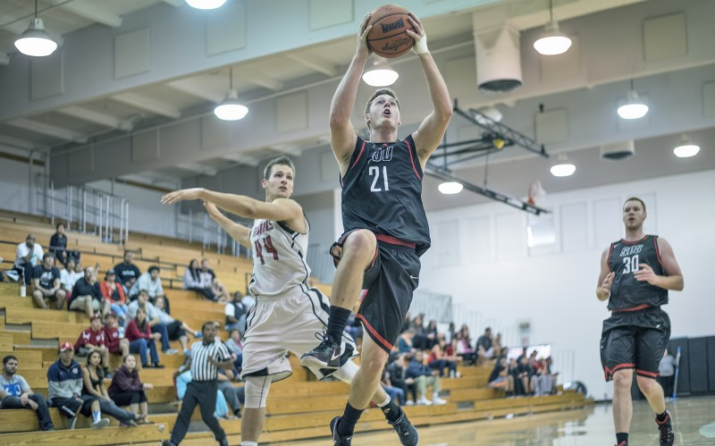 sou men's basketball Ben DeSaulnier