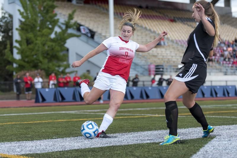 SOU women's soccer Lauren Aldana