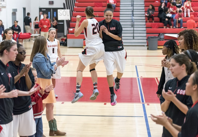 sou women's basketball autumn durand sydney mullings