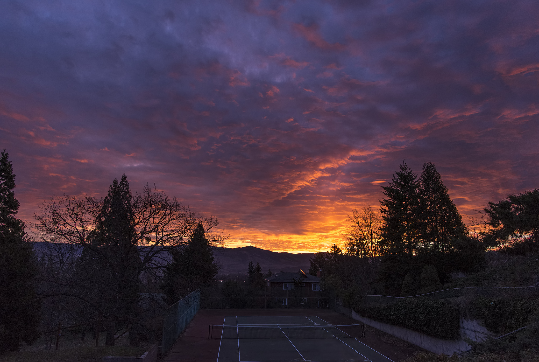 sunrise ashland oregon