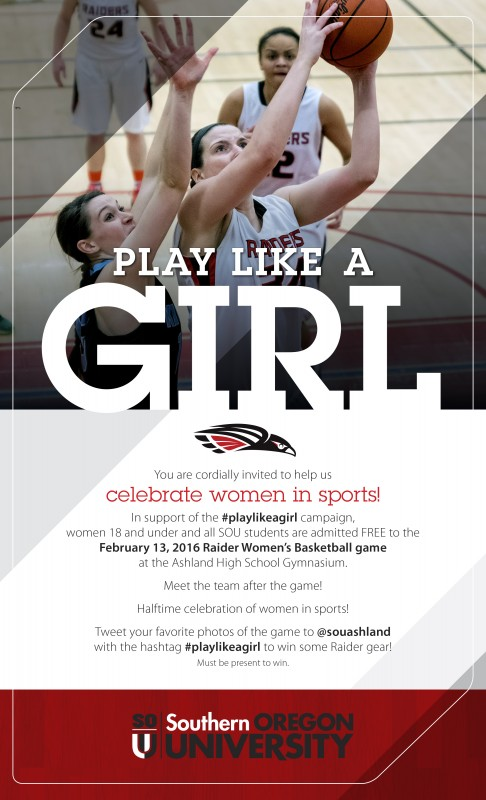 Play Like a Girl Evite 2016 sou women's basketball