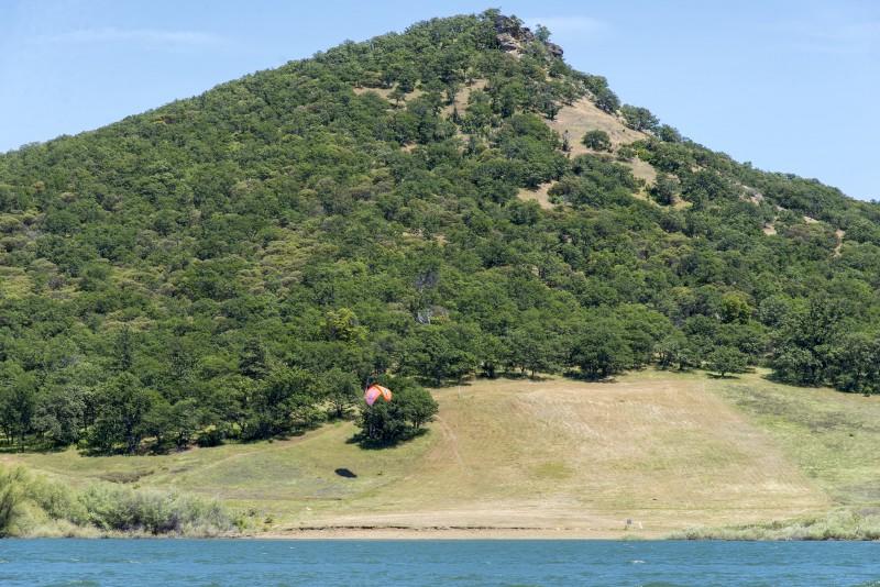 paragliding emigrant lake ashland oregon