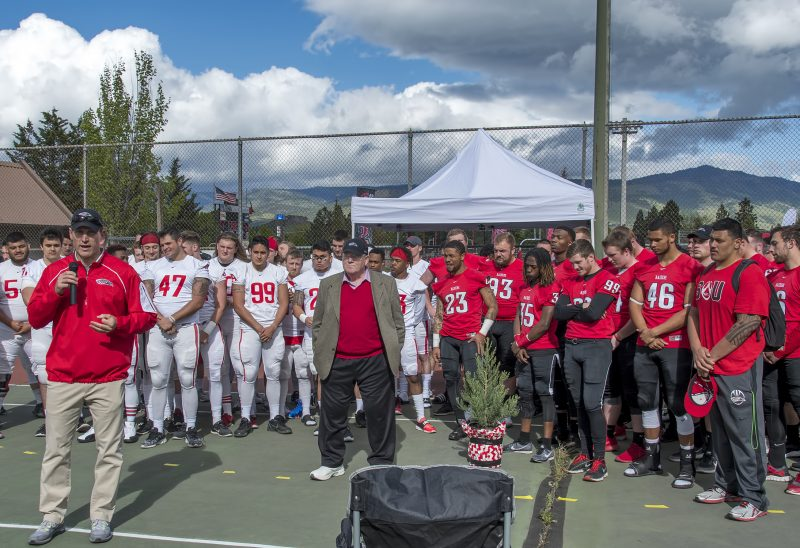 sou football stan smith memorial matt sayre coach howard
