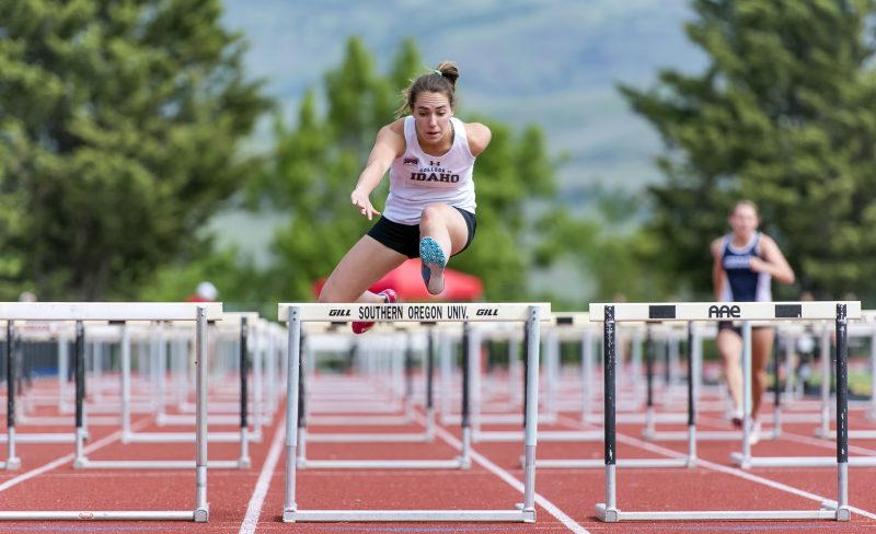 sou track and field college of idaho heptathlon