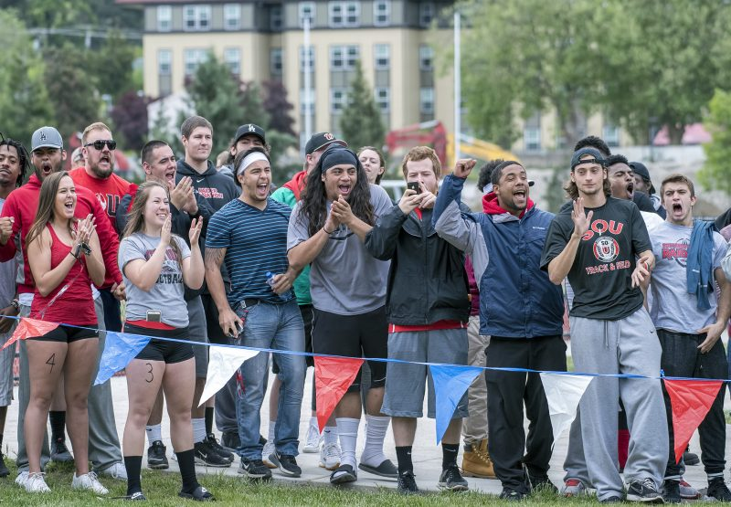 sou track and field crowd tylor king shot put