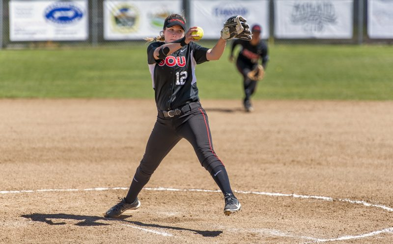 sou softball victoria mackey