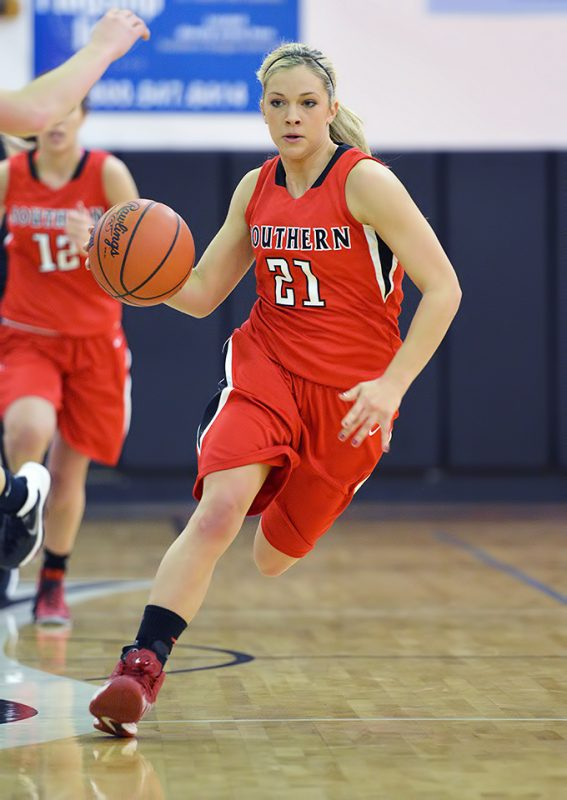 SOU Women's Basketball vs OIT Kristen Schoenherr
