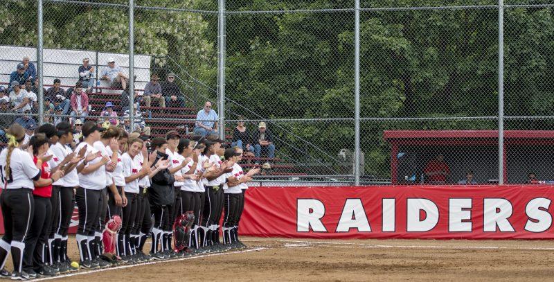 sou softball raiders team
