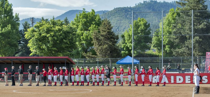 photomerge 3-photo sou softball team