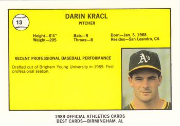 Darin Kracl of the Medford A's
