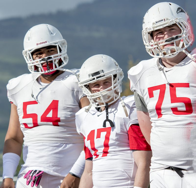 sou football red white game Jose Sanchez Sean Tow Connor Astley