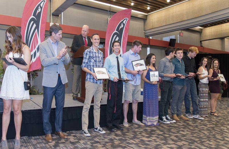 mcwatters sou athletics sports awards matt sayre ryan mcwaters dylan alexander jared hixon alexa gonzalez seniors