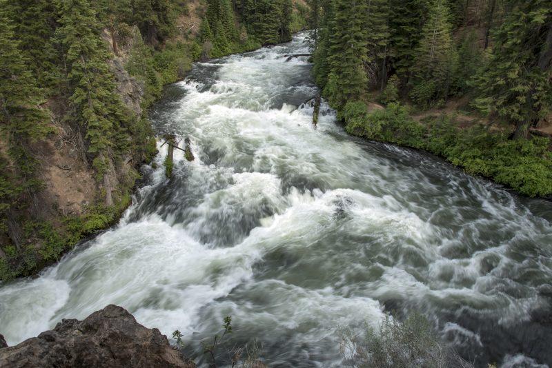 benham falls sunriver oregon