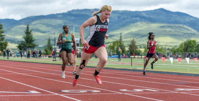 sou track and field Margot Hamman
