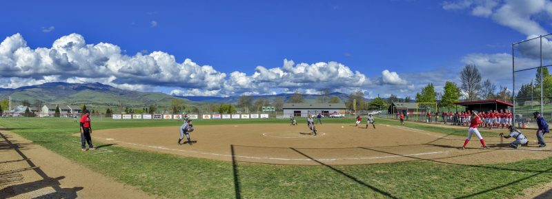 3 photo photomerge panorama SOU softball oit