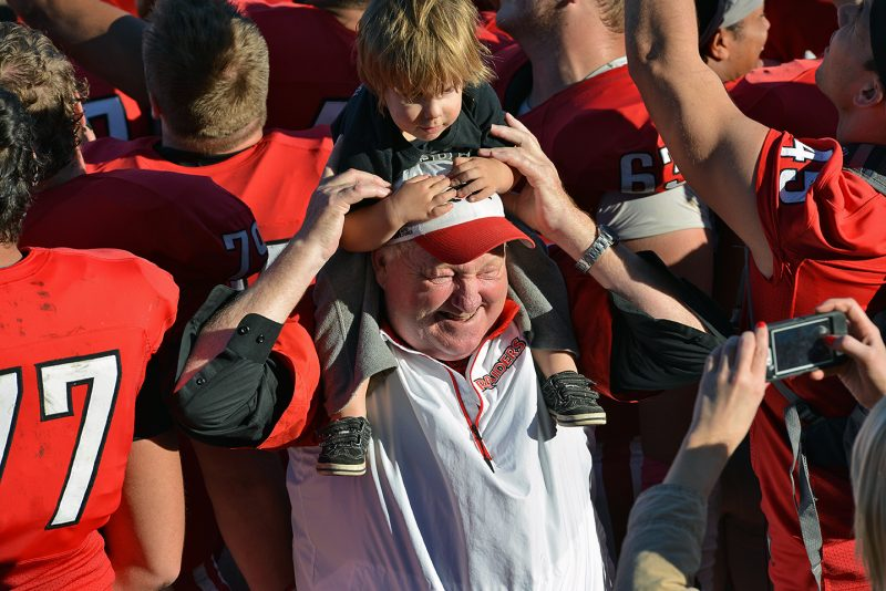 SOU Football UMW coach howard
