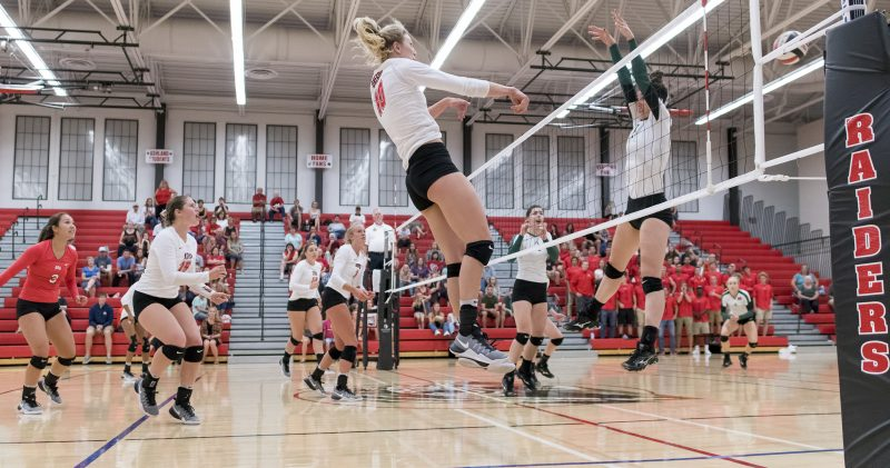 sou volleyball Courtney Macklin