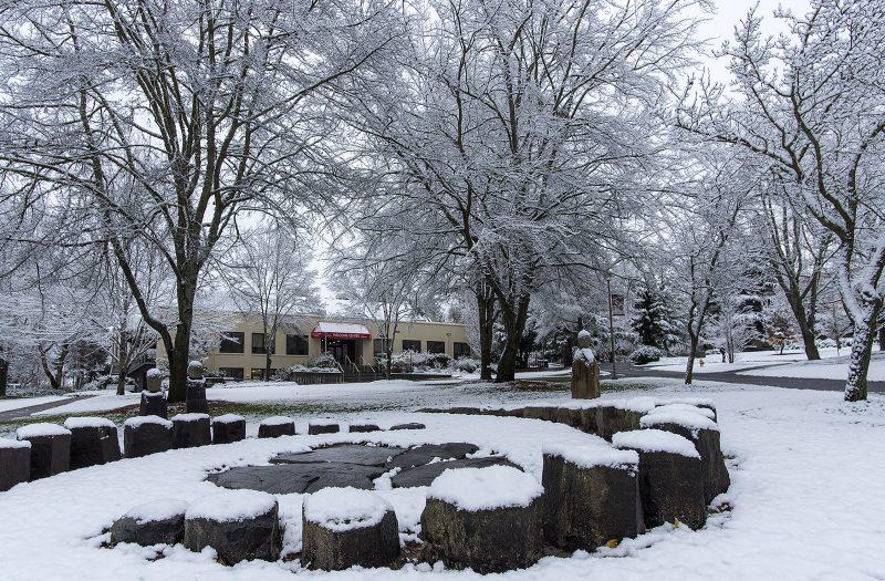 sou campus snow