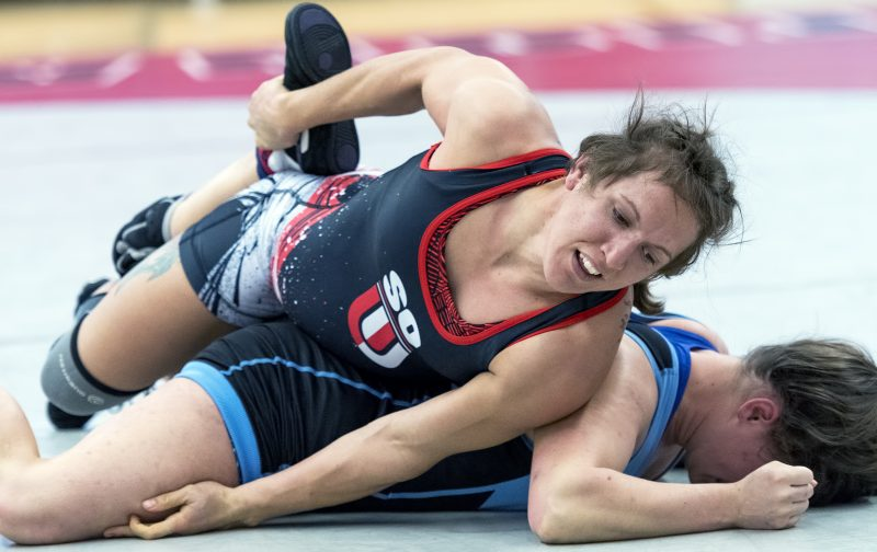 sou womens wrestling Kal Holliday