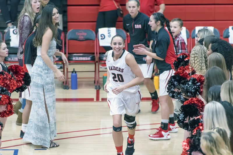 sou womens basketball autumn durand