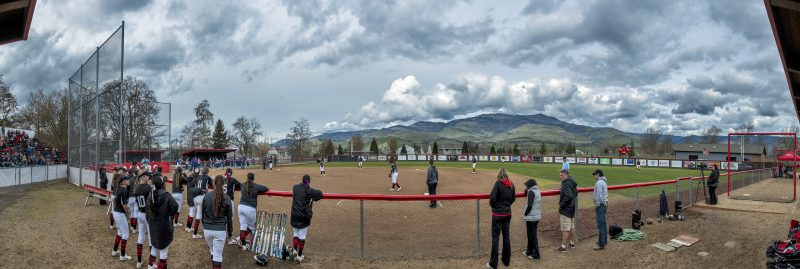 10-photo photomerge sou softball Southern Oregon Softball Named CCC Team of the Week