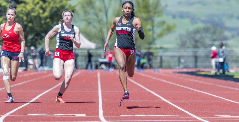 sou track and field Rakayla Tyler