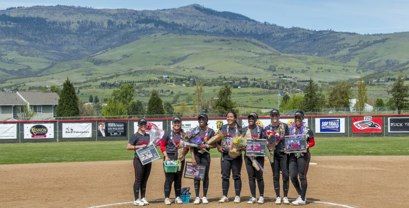 sou softball seniors